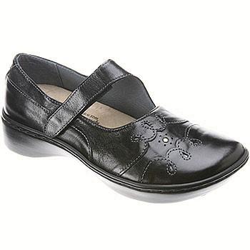Naot Coast Midnight Black Leather 25021-032 (Women's)