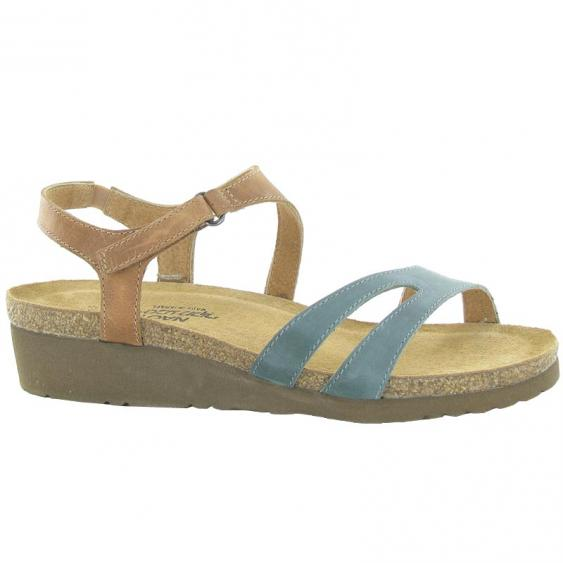 Naot Janis Sea Green/Latte Brown 4005-VA2 (Women's)