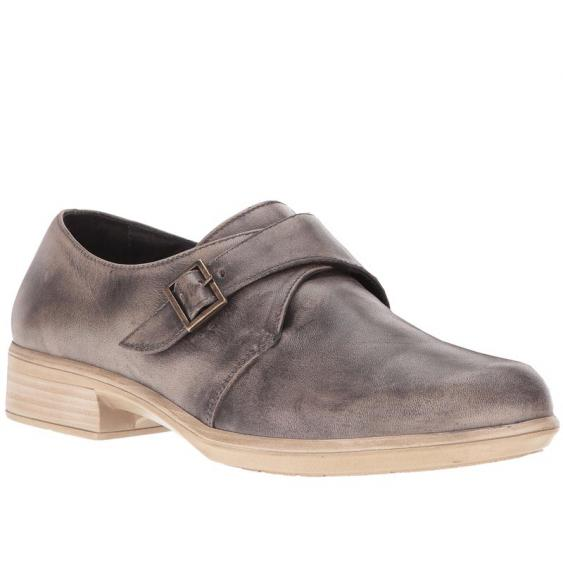 Naot Borasco Vintage Gray Leather 26029-B92 (Women's)