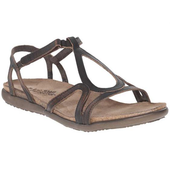 Naot Dorith Volcanic Brown Leather 4710-EA5 (Women's)