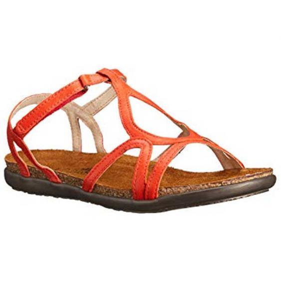 Naot Dorith Orange Leather 4710-F14 (Women's)