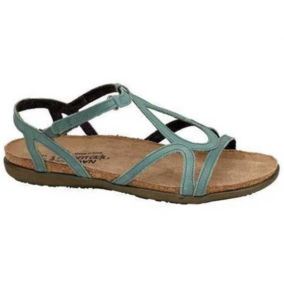 Naot Dorith Sea Green Leather 4710-G33 (Women's)