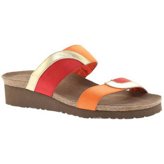 Naot Frankie Gold/ Orange/ Red 4026-YC7 (Women's)