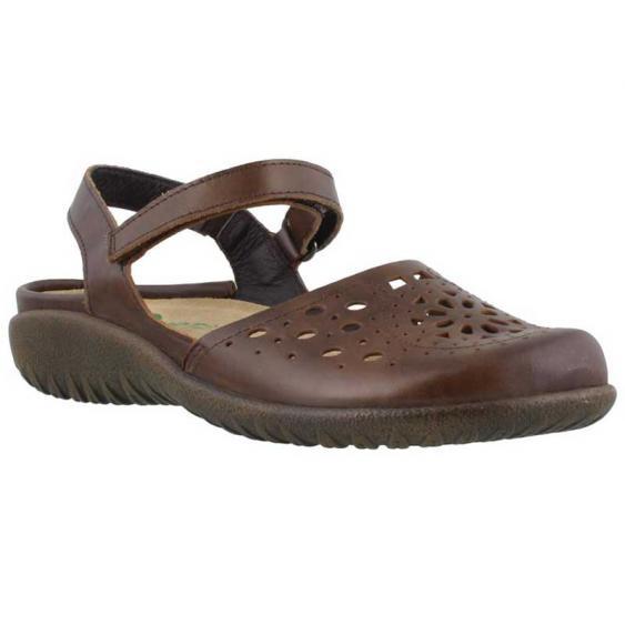 Naot Arataki Pecan Brown Leather 11124-EB5 (Women's)
