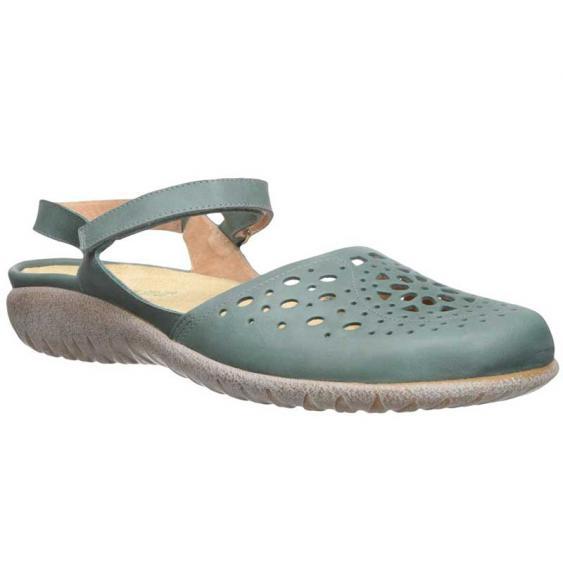 Naot Arataki Sea Green Leather 11124-G33 (Women's)