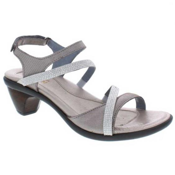 Naot Innovate Silver Threads/ Beige/ Clear 40033-NZQ (Women's)