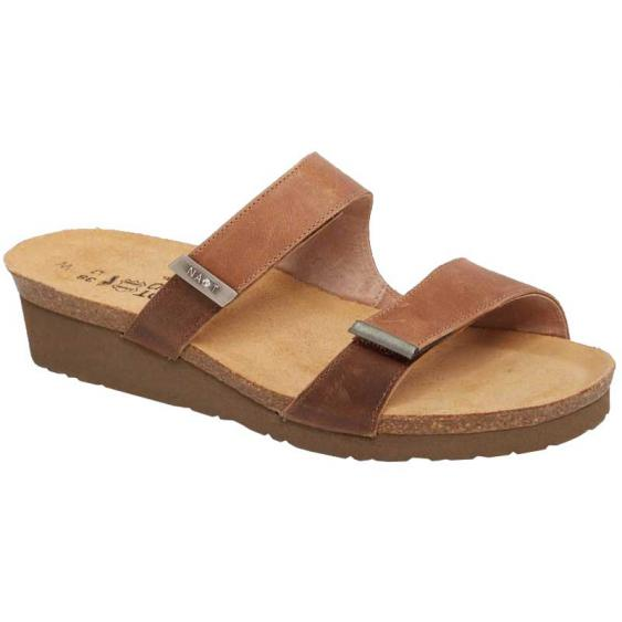 Naot Jacey Latte Brown/ Saddle Brown/ Sterling 7305-SCS (Women's)