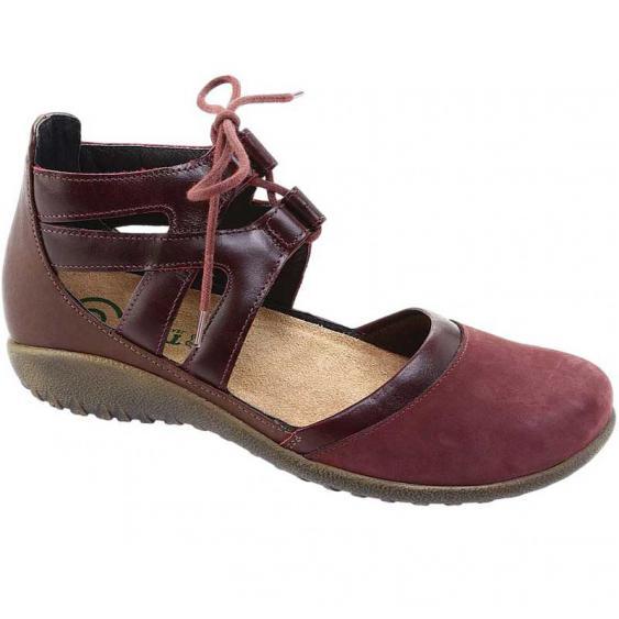 Naot Kata Violet/ Bordeaux/ Toffee Brown 11152-RAM  (Women's)