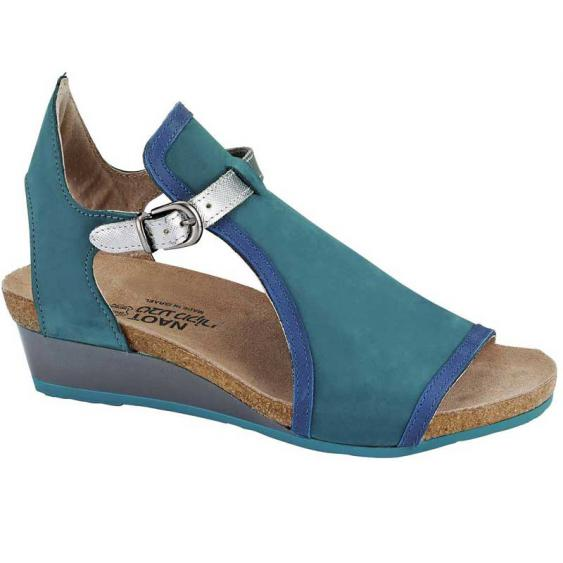 Naot Fiona Teal/ Oily Blue/ Silver Luster 5042-V86 (Women's)
