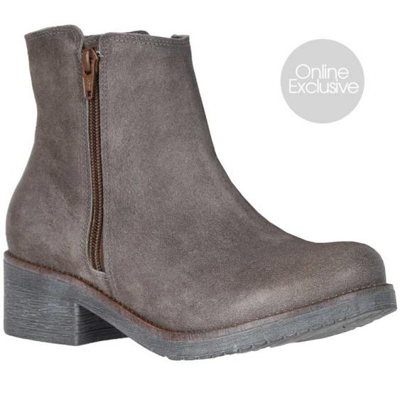 Naot Wander Taupe Gray Suede 17609-M09 (Women's)