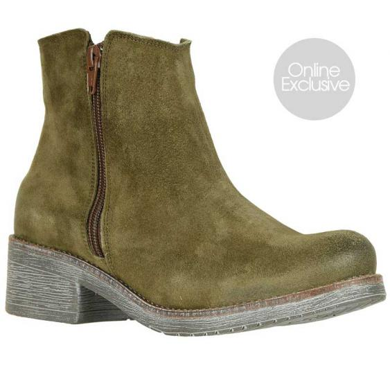 Naot Wander Brushed Oily Olive Suede 17609-M02 (Women's)