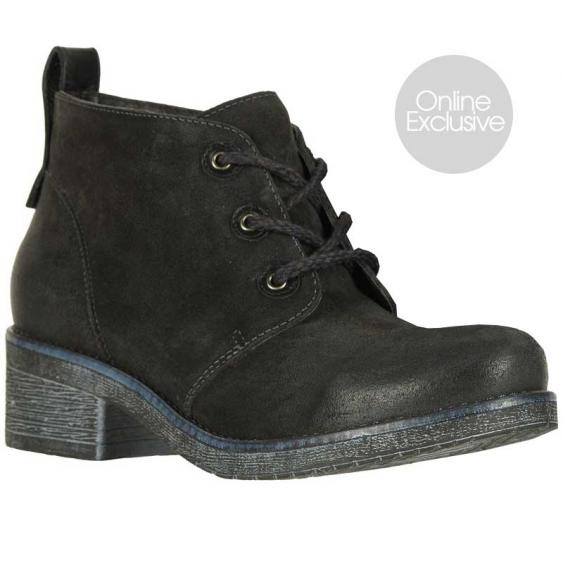 Naot Love Oily Midnight Suede/ Black Raven 17604-NIA (Women's)