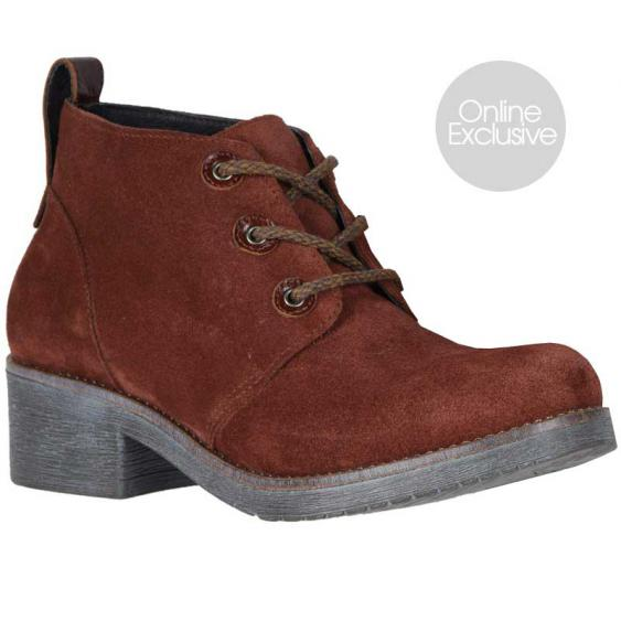 Naot Love Rust Suede/ Luggage Brown 17604-SHE (Women's)