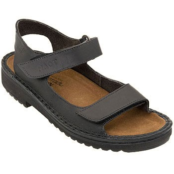 Naot Karenna Black Matte Leather Sandal 60070-034 (Women's)