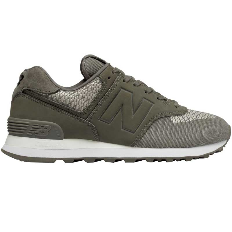 New Balance 574 Military Foliage Green/ Stone Grey 2018 Nueva yFr0Z