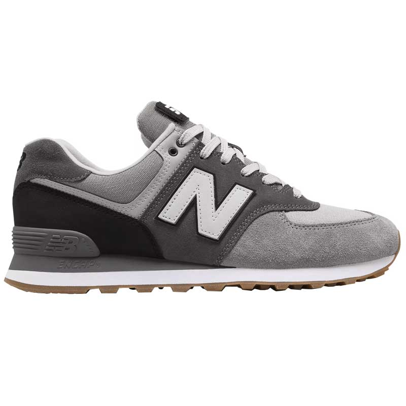 new concept 7cc6c bc9d6 New Balance 574 Military Patch Marblehead/ Black ML574MLB (Men's)