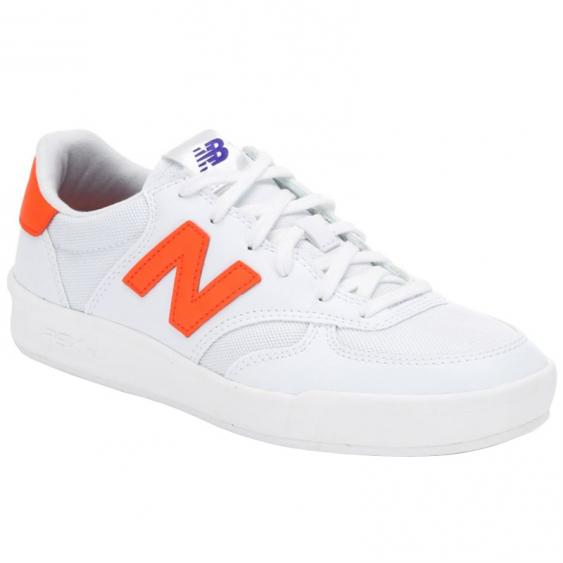 New Balance 300 White/ Alpha Orange WRT300CF (Women's)