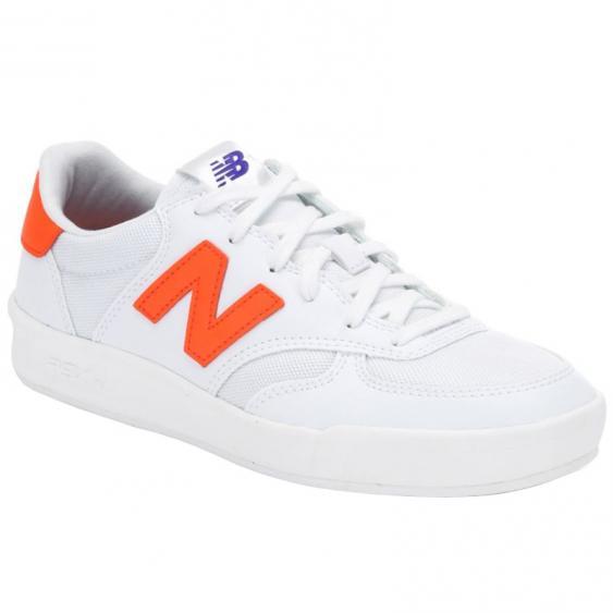 New Balance 300 White/ Alpha Orange WRT300CF (Women's)