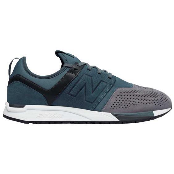 New Balance 247 Suede Orion Blue/ Grey MRL247N3 (Men's)