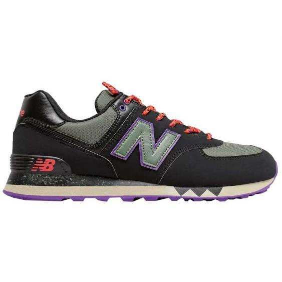New Balance 574 90's Outdoor Black/ Slate Green ML574NFQ (Men's)