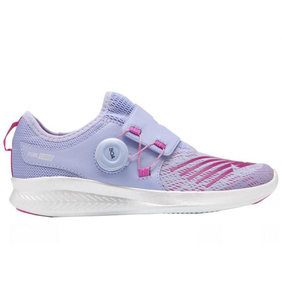 New Balance Fuel Core Reveal Clear Amethyst/ Carnival GKBKOCA (Youth)