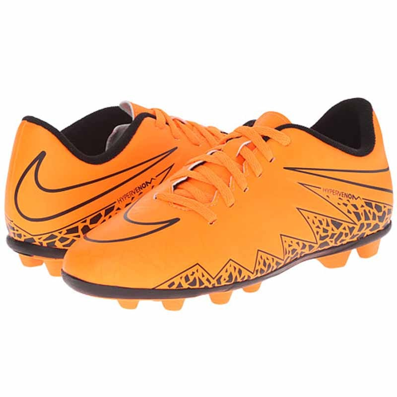 the best attitude dfae3 d9284 Nike Hypervenom Phade II Total Orange   Black 744942-888 (Youth)
