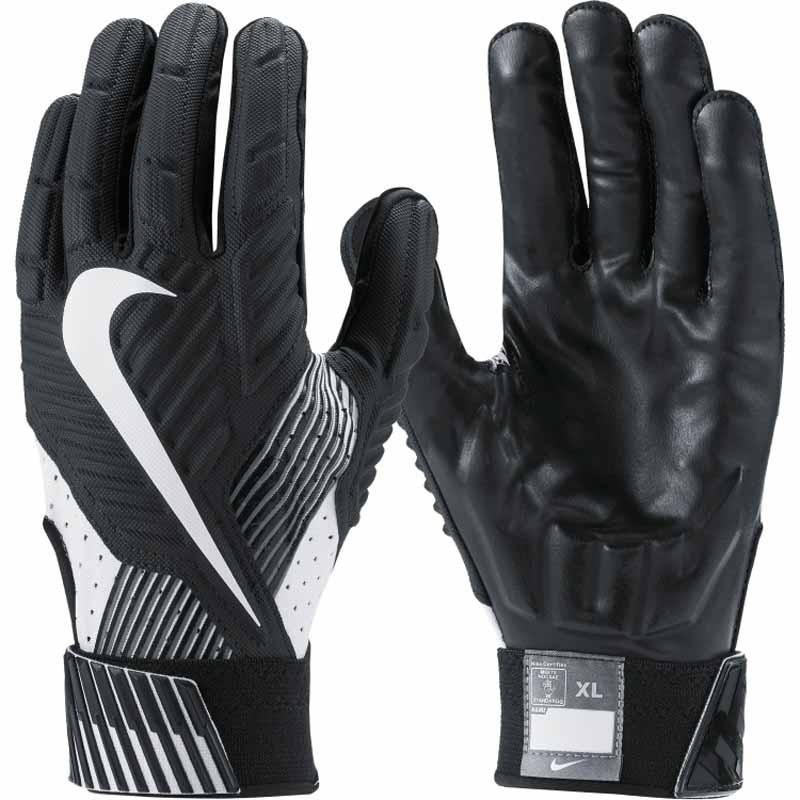 Nike Gloves Football: Nike D Tack Black / White GF0385-010 (Adult