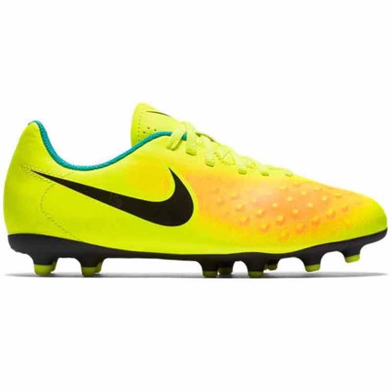 7ee0f648fd9 Nike JR Magista OLA II FG Volt   Orange   Black 844204-708 (Youth. Loading  zoom