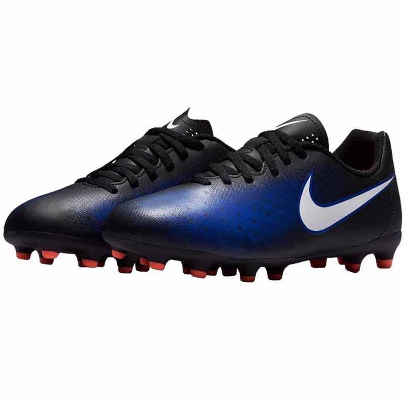 687afe7fd733 Nike Magista Ola II FG Black   Blue   Orange 844204-016 (Youth). Loading  zoom