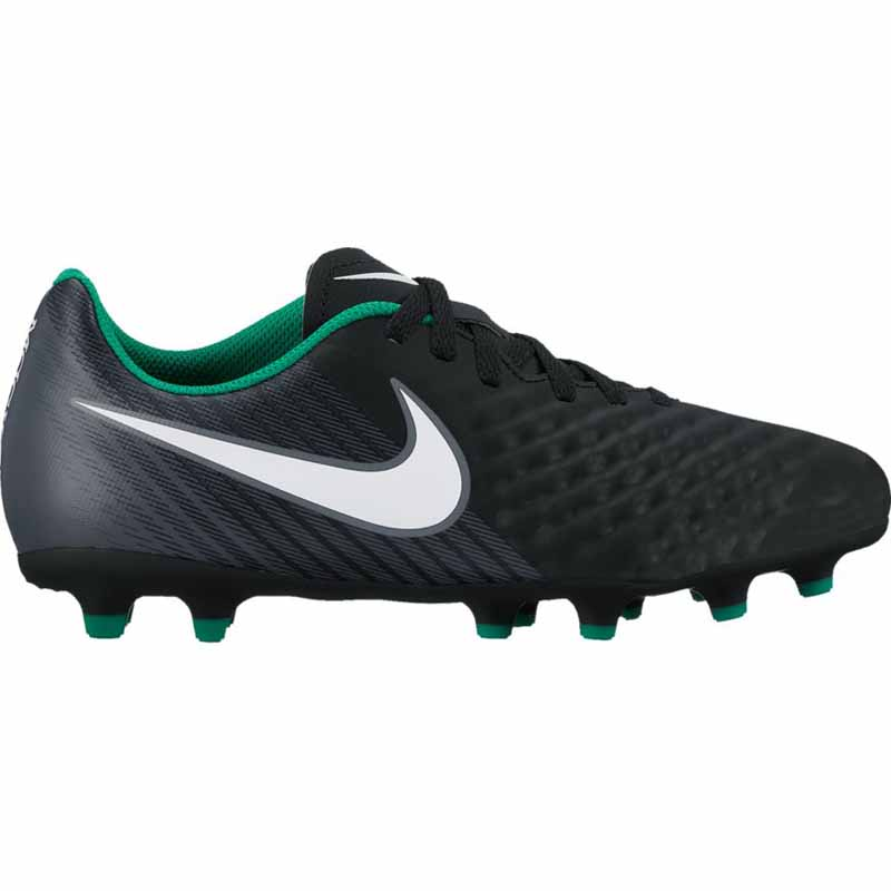 e08cba2c27e3 Nike Magista Ola II FG Black   Green 844204-002 (Youth). Loading zoom