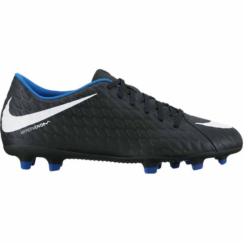 3a07137153d4 Nike Hypervenom Phade III FG Black   Royal 852547-002 (Men s)