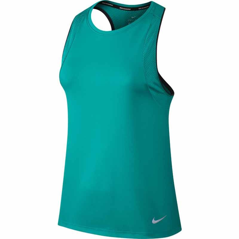 ff83de90d8b58 Nike Miler Tank Turbo Green 854939-311 (Women s). Loading zoom