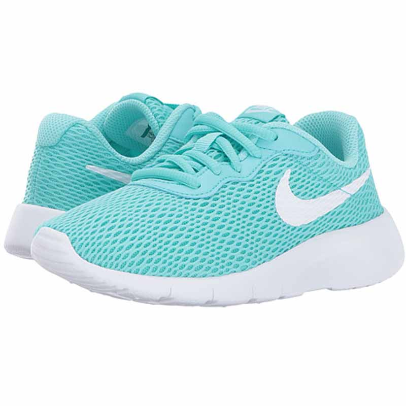d7235f81f5c0 Nike Tanjun Aurora Green   White 818385-301 (Kids)