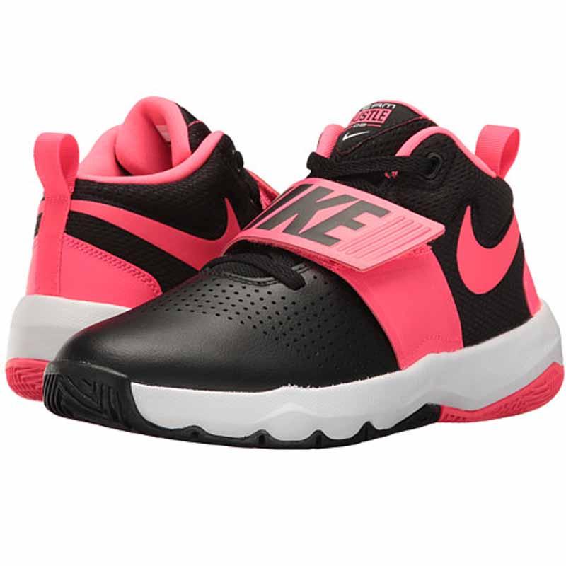 58f772032f0 Nike Team Hustle D 8 Black   Pink 881941-002 (Youth). Loading zoom