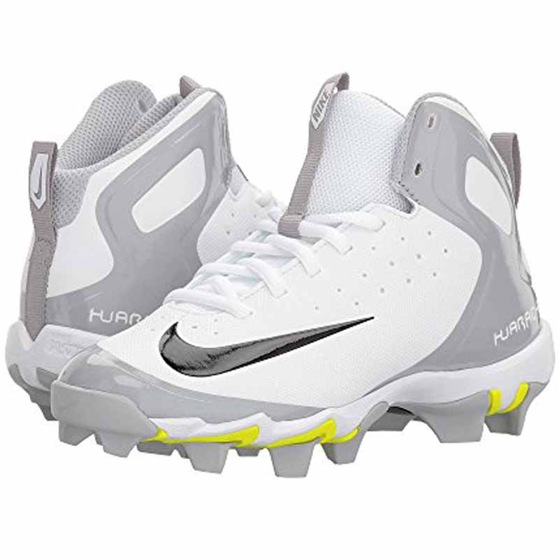 8eeb80092d8a Nike Alpha Huarache Keystone Mid White   Black 923430-101 (Youth)