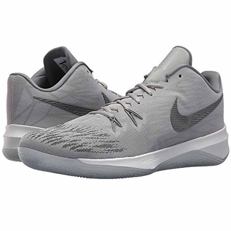 super popular e479d ecb6d Nike Zoom Evidence II Grey   White 908976-010 (Men s)