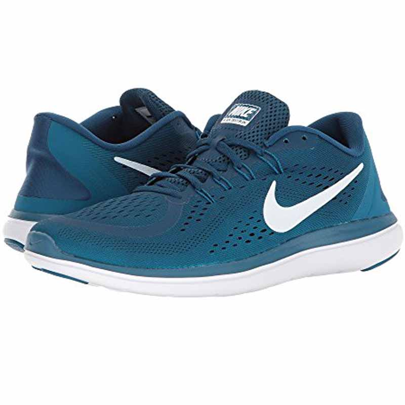 b2db3c123e623 Nike Flex 2017 RN Blue   Green Abyss 898457-405 (Men s)