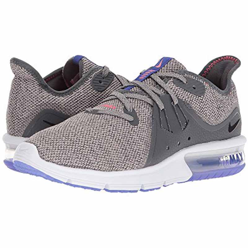 new styles 38396 c42d7 Nike Air Max Sequent 3 Grey   Black 908993-013 (Women s). Loading zoom