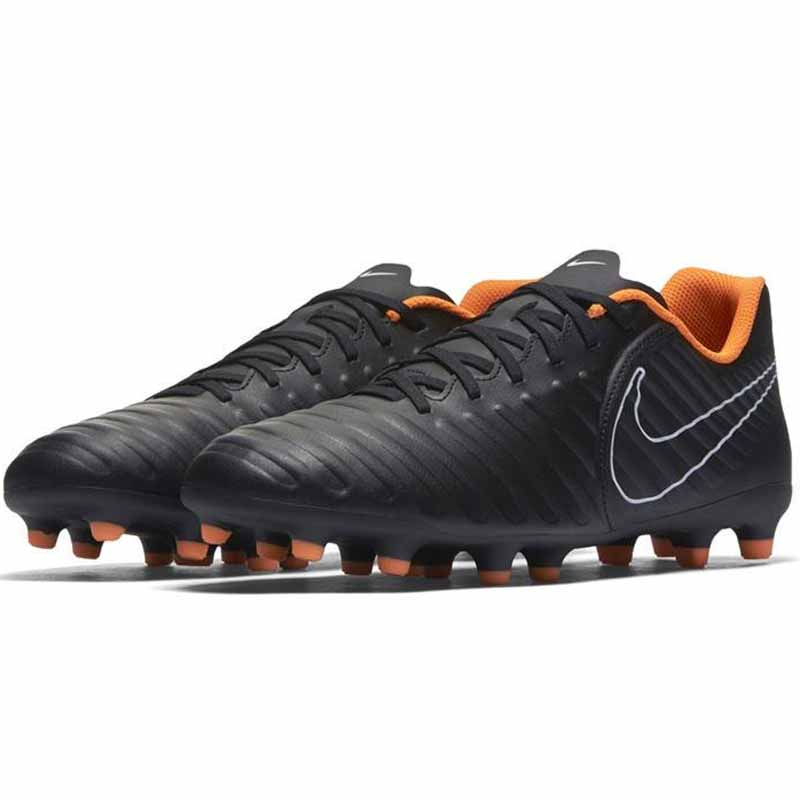 new style df593 2f0f6 Nike Tiempo Legend 7 Club Black / Orange AH7251-080 (Men's)