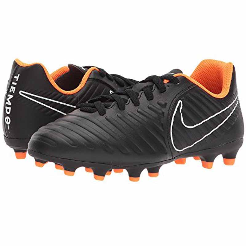 the best attitude 80138 03786 Nike Tiempo Legend 7 Club Black  Orange AH7255-080 (Youth). Loading zoom