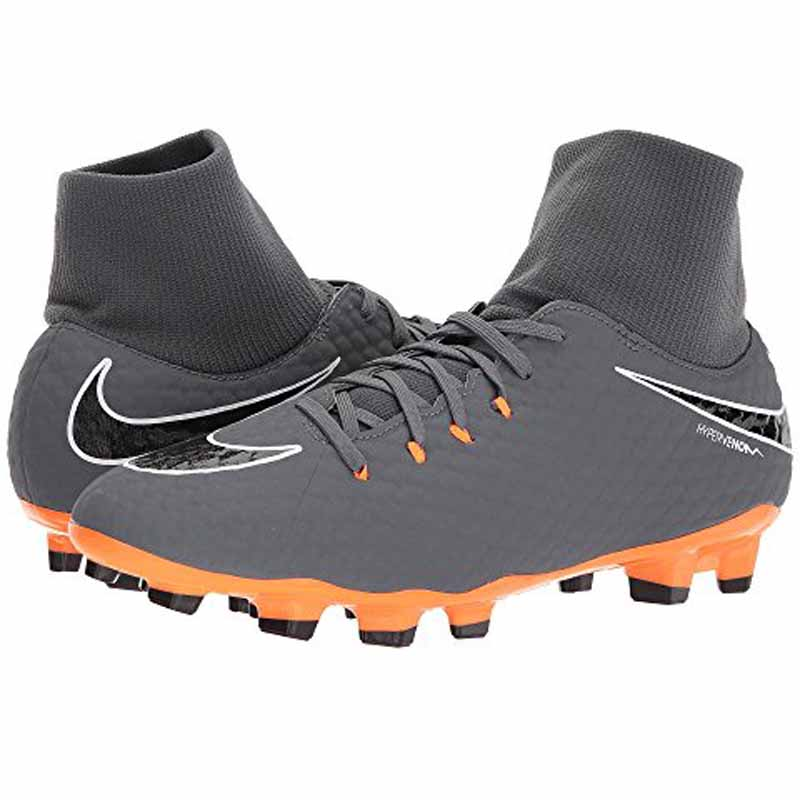 the best attitude 7bdf0 b86c7 Nike Hypervenom Phantom 3 Grey / Orange AH7268-081 (Men's)