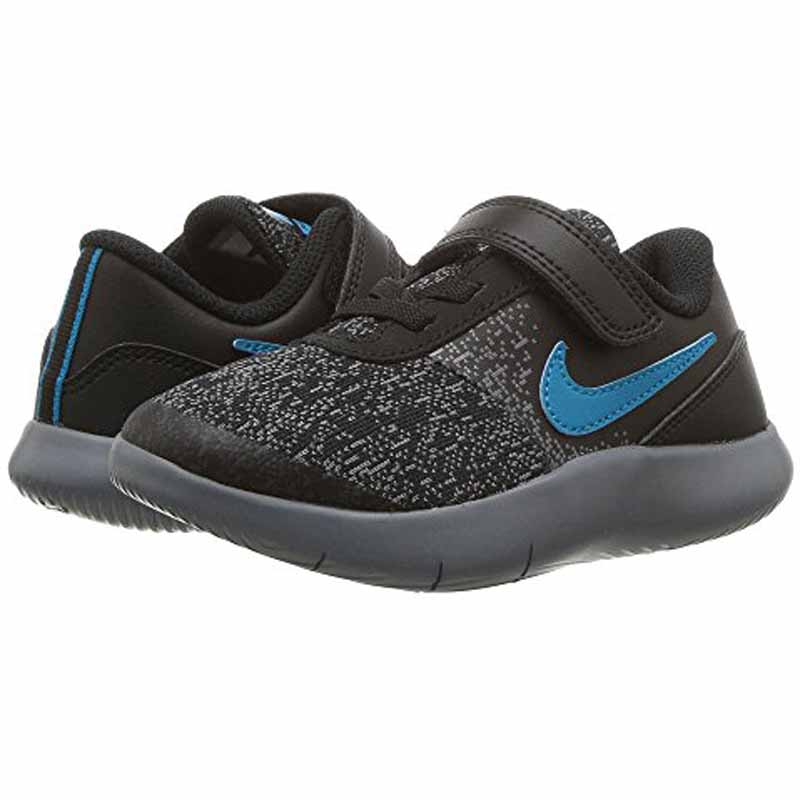7dbb9d137051 Nike Flex Contact Black   Turquoise 917935-007 (Infant). Loading zoom
