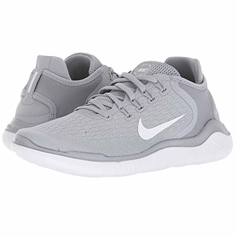 Nike Free RN 2018 Wolf Grey  White 942837-003 (Womens)
