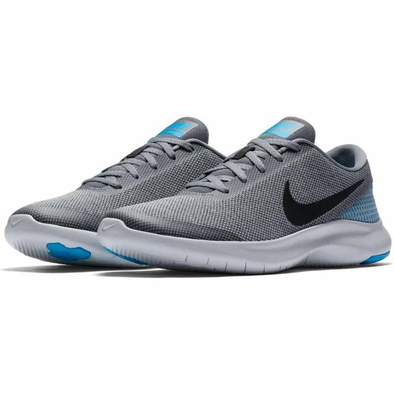 Grey Nike Flex Shoes