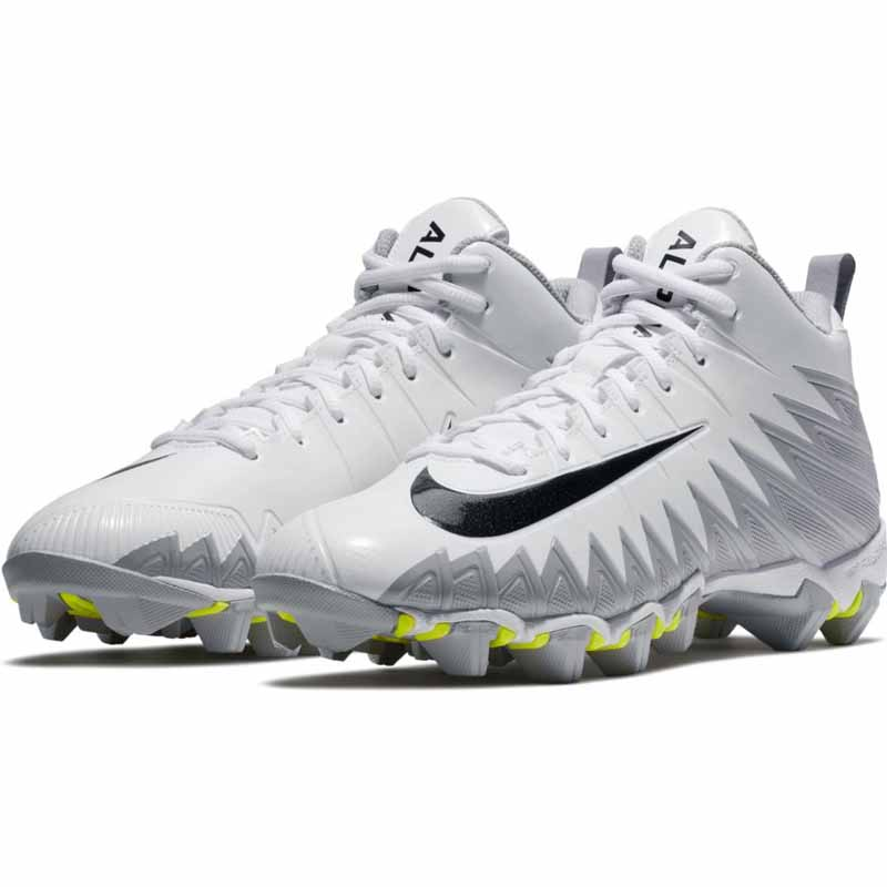 d4087e90638 Nike Alpha Menace Shark GS White   Black 878122-104 (Men s). Loading zoom