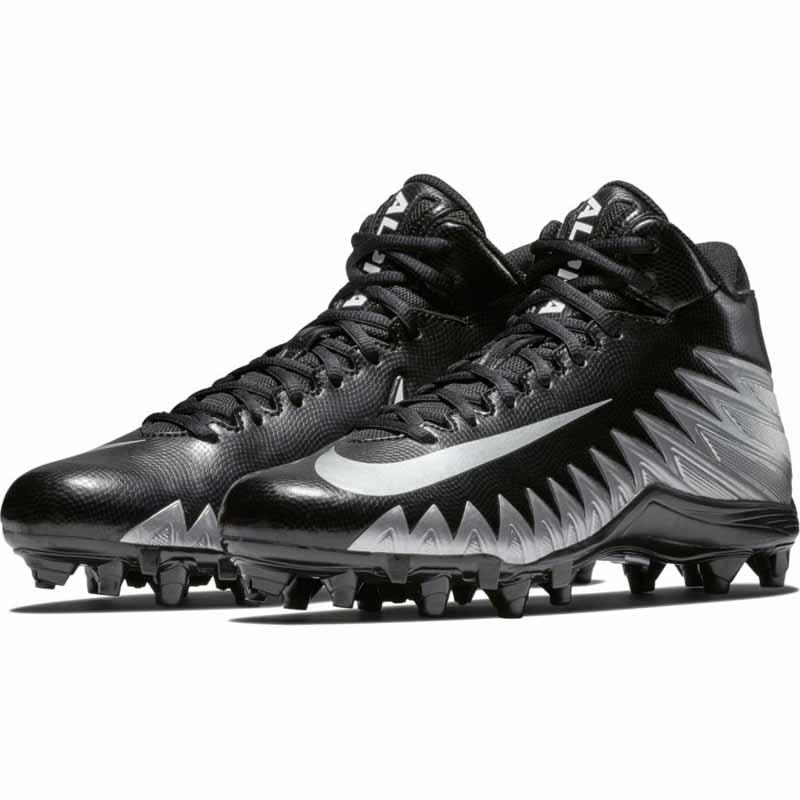 2747ec2320c0 Nike Alpha Menace Varsity Mid Black / Silver 880137-001 (Men's)