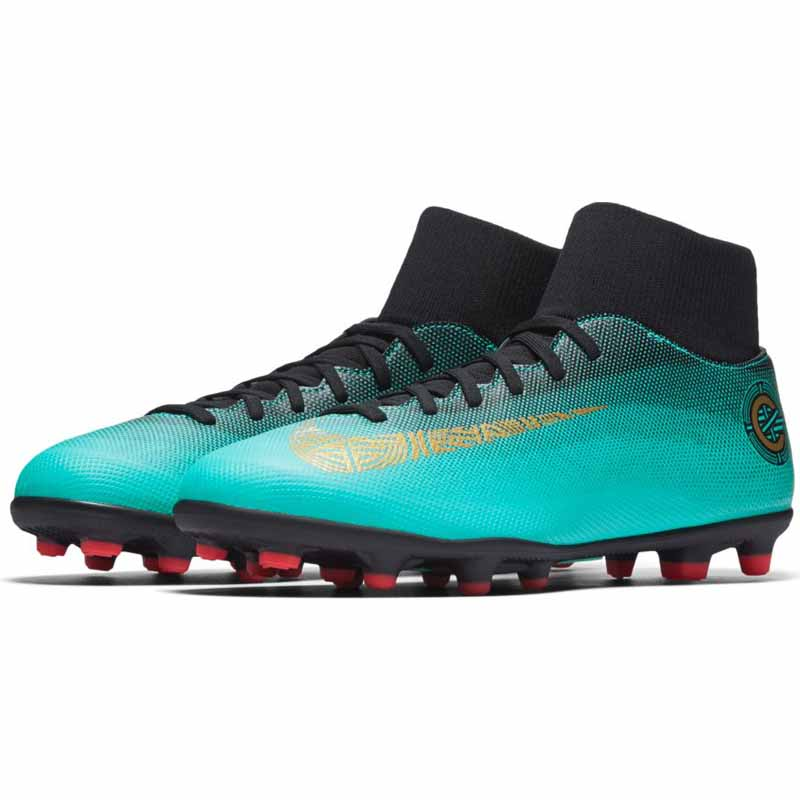 premium selection 75a91 4dc02 Nike Superfly 6 Club CR7 Jade / Gold AJ3545-390 (Men's)