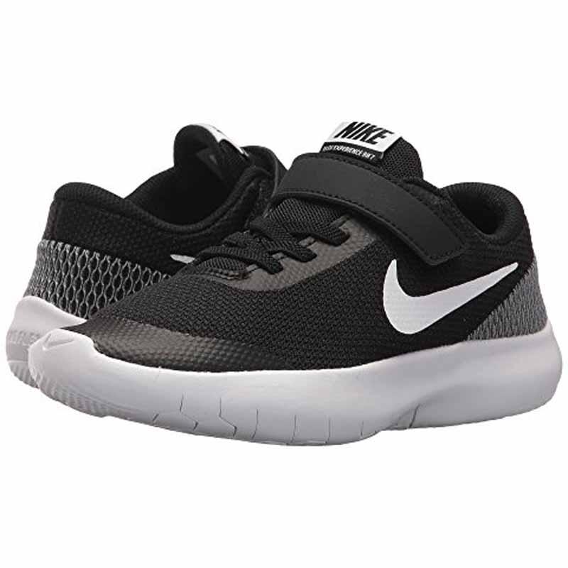 53b0231a65fa6 Nike Flex Experience RN 7 Black   White 943285-001 (Kids)