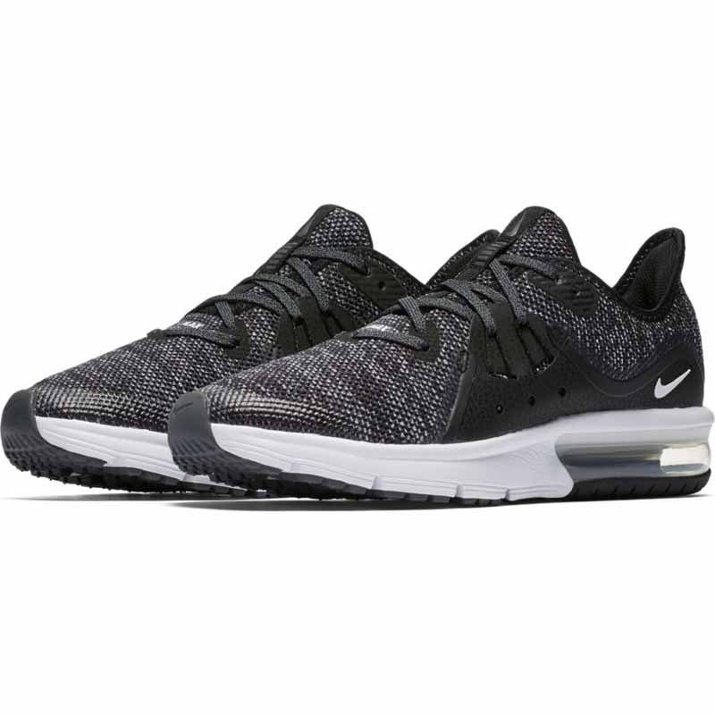 df7ca024a6188 Nike Air Max Sequent 3 Black / White 9228884-001 (Youth)