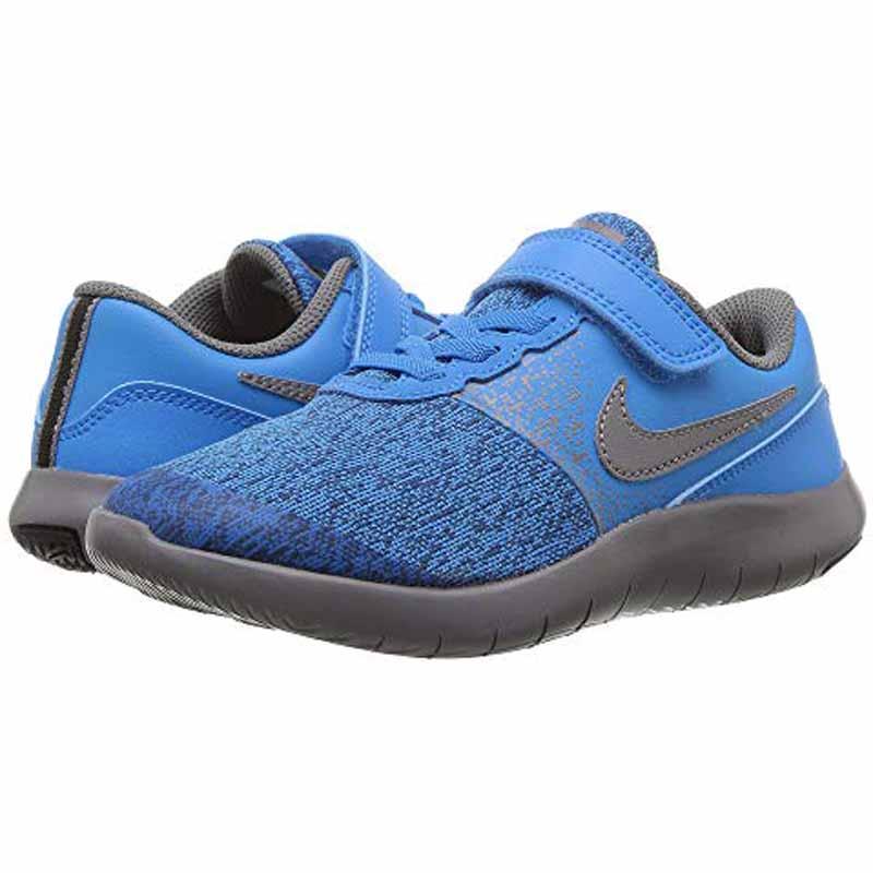 b4aafed8e68d Nike Flex Contact Blue Hero   Gunsmoke 917934-403 (Kids). Loading zoom